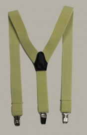 Bretels - geel - maat baby/kleuter 65 cm.
