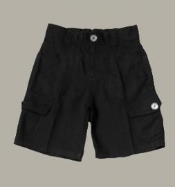 Little Linens zwarte linnen bermuda - maat 158 - LL21