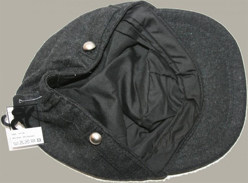 Pet ´Guus´ - zwart wolvilt - maat 57 - BN