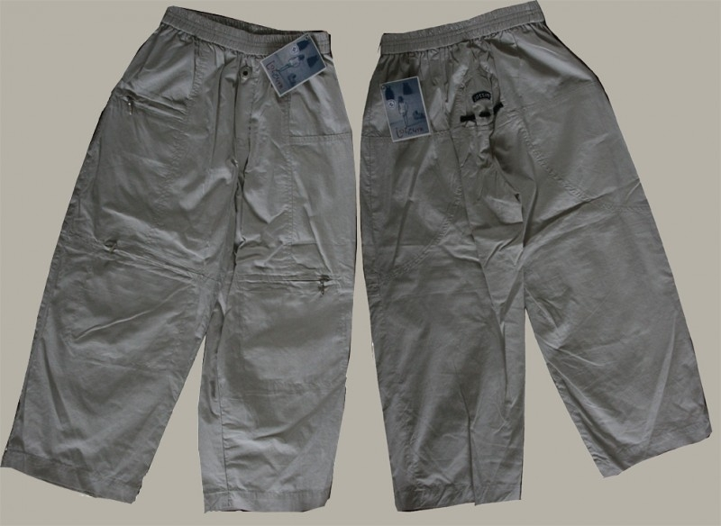 Jottum khaki broek `Dries` - maat 104 (valt ruim) - JT32