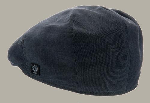 Pet 'Edward' Denim Blue - flat cap - denim blauw - maat 60/61 - CTH Ericson