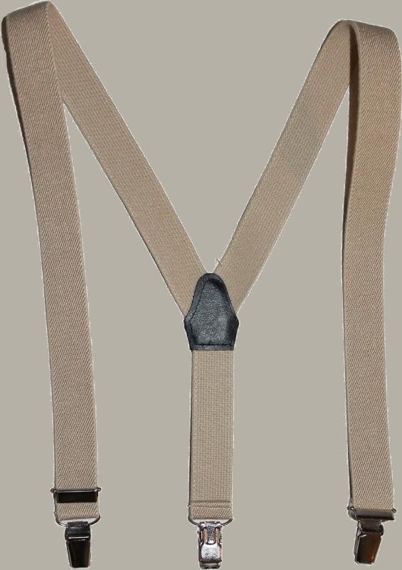 Bretels - zand - maat baby/kleuter