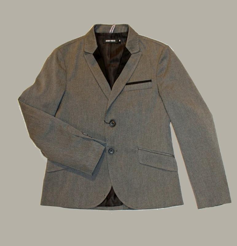 Antony Morato blazer grijs melange - maat 152 / 12 - AM01