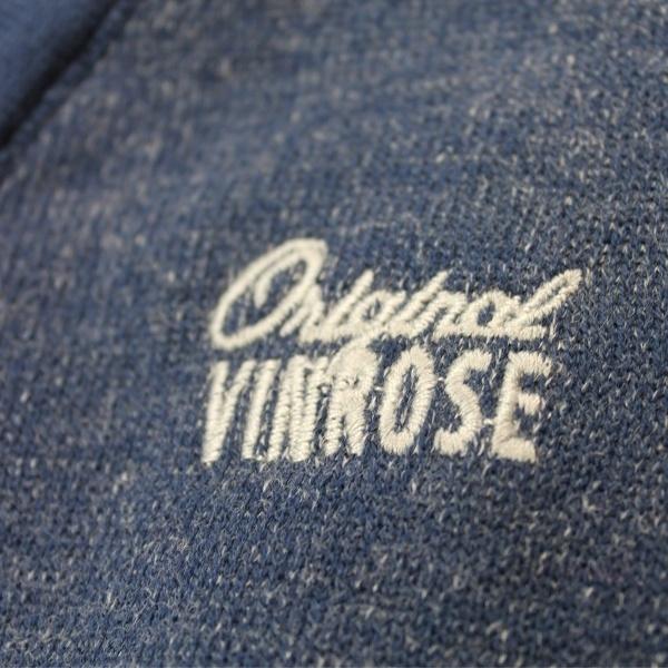Vinrose vest 'Barry' Grey Melange (grijs/blauw) - maat 146/152 - VR68