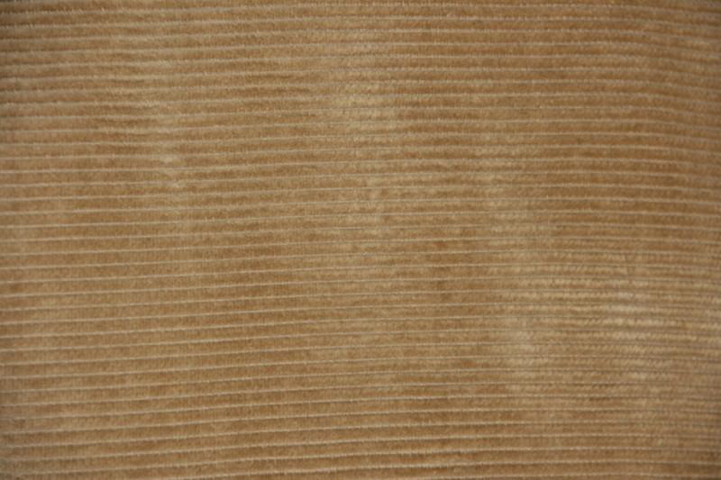 Pet `Sil`  - corduroy flat-cap - beige/camel rib - maat 60 - FI