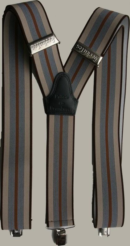 Bretels `Herkules` - bruin/blauw - plm. maat 134 tot volwassen maat - PE
