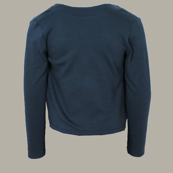 Vinrose blazer 'Inka' Blue - donkerblauw vest/colbertje - maat 122/128 - VR88