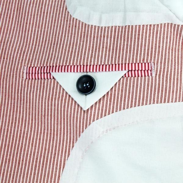 Vinrose blazer 'Chris' - 'Red Striper' rood/wit gestreept - maat 92 - VR59