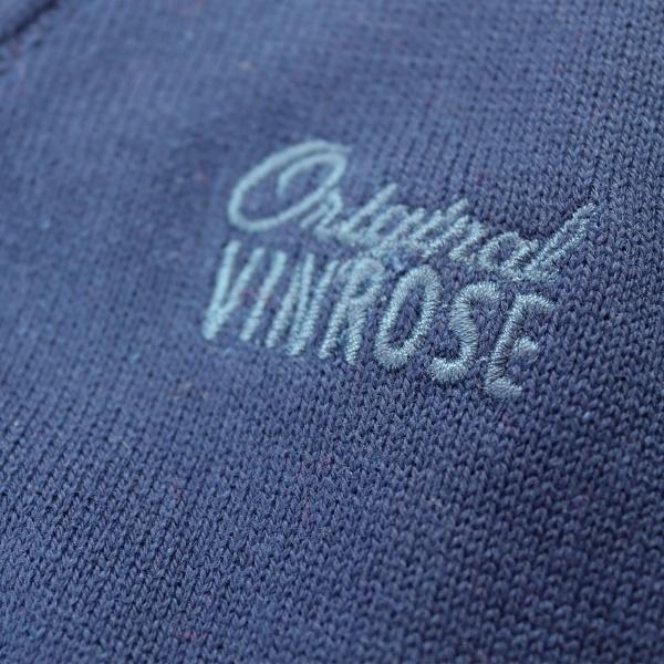 Vinrose vest 'Barry' Olympian Blue (donkerblauw/ indigo) - maat 86/92 - VR69