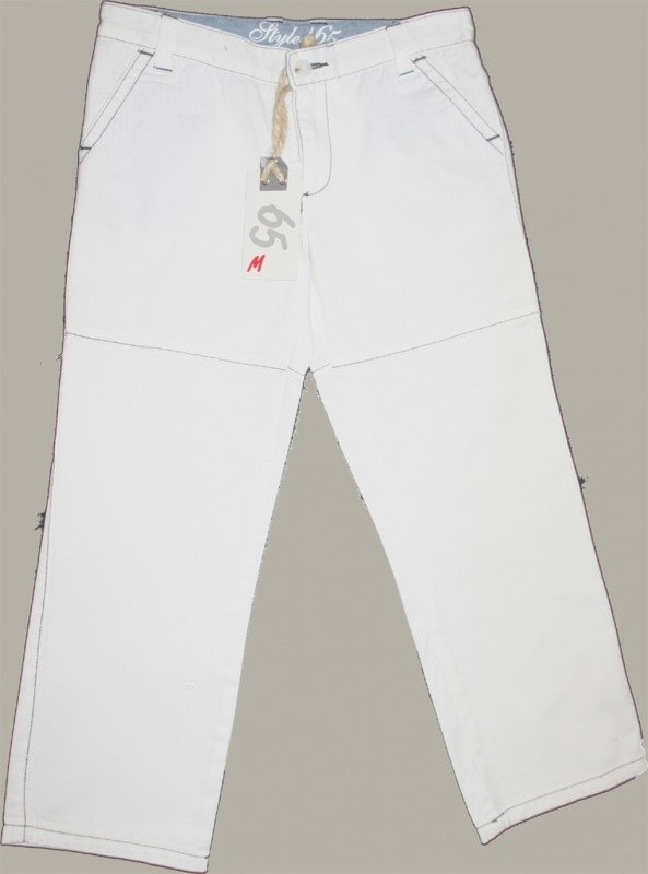 65M Sixty-five broek wit - maat 110/116 (valt ruim) - KG102