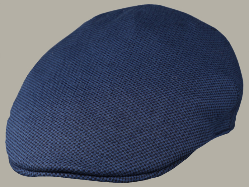 Pet 'Levi' - donkerblauwe flat-cap - maat 59/61 - FI01
