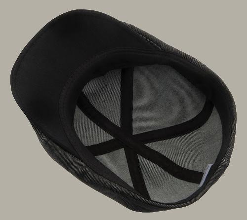 Pet `Henning` Denim Black - duckbill cap zwart - maat 58/60 - CTH Ericson