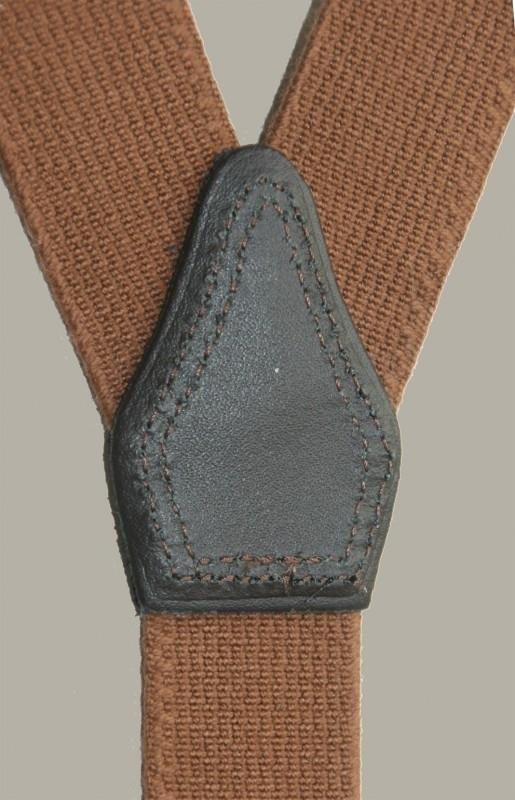 Bretels - cognac bruin - maat baby/kleuter