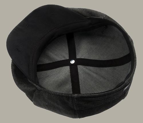 Pet `Leo` Denim Black - sixpence cap zwart - maat 58/60/61 - CTH Ericson