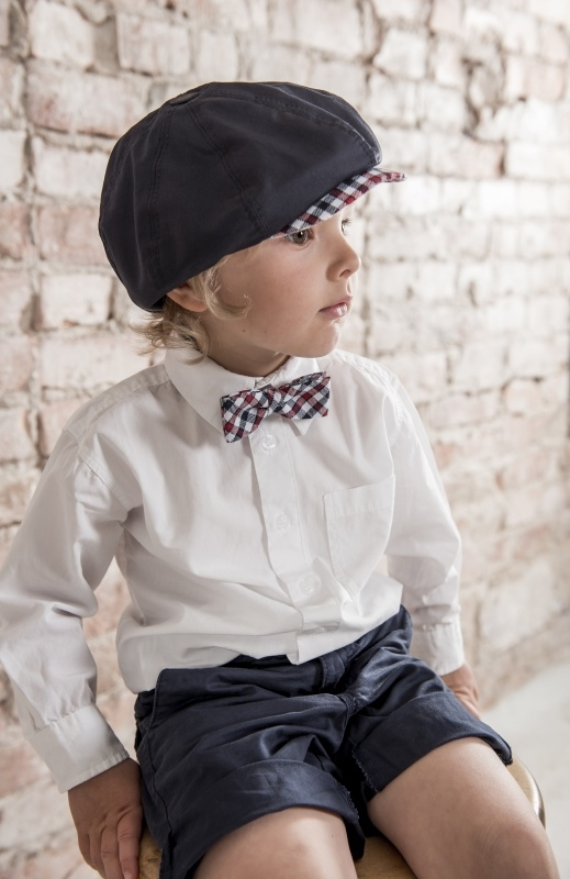 Bow-Tie 'Knut Jr.' Flannel Check - vlinderstrik - CTH Mini