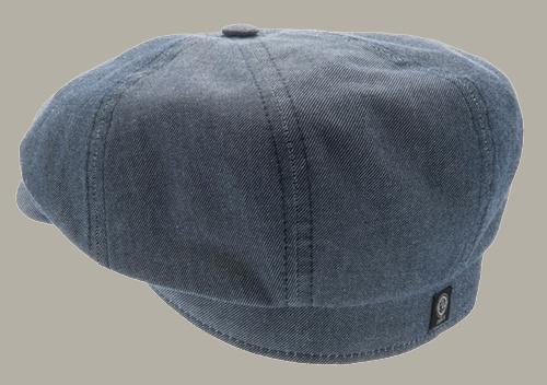 Pet `Alan` Morgado/Liberty Blue - newsboy cap - blauw - maat 59/60/61 - CTH Ericson