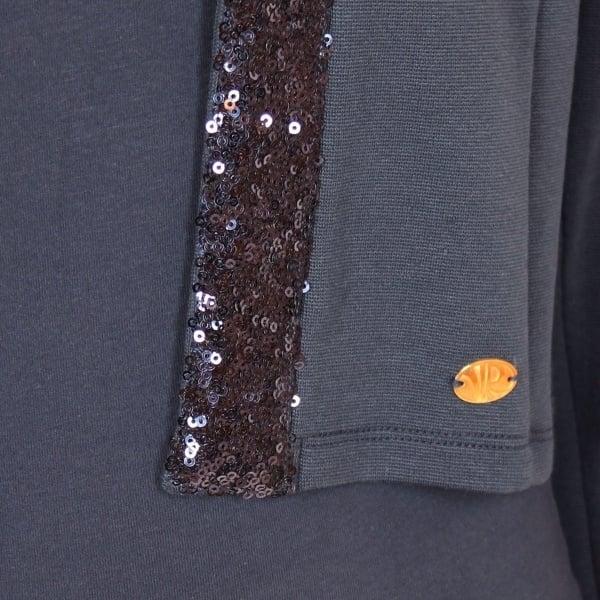 Vinrose blazer 'Inka' Blue - donkerblauw vest/colbertje - maat 146/152 - VR88