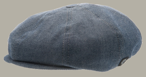 Pet `Lorentz` Morgado/Liberty Blue - newsboy cap - blauw - maat 48 - CTH Mini
