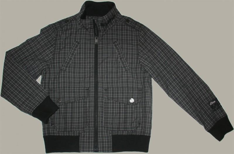S.Oliver zomerjas - groen/grijs geruit - maat 152 - S48