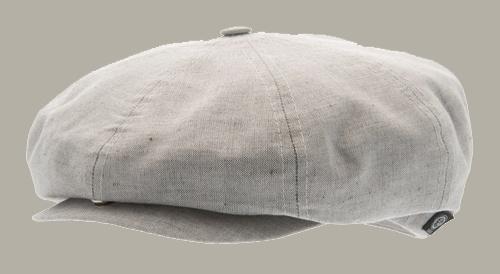 Pet `Olle` Timida Grey - newsboy cap  - maat 58/60 - CTH Ericson