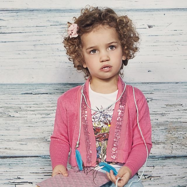 Vinrose vest 'Tory' - Pink Lemonade - maat 110/116 - VR