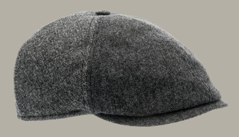 Pet `Colin Patchwork Grey` - newsboy cap - maat 62 - CTH Ericson