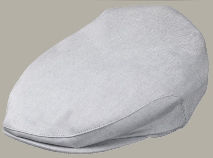 Pet 'Jorn' - lichtgrijze flat-cap - maat 59/61 - FI03