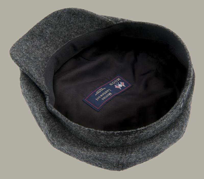 Pet `Alan Moon Shetland Graphite` - newsboy cap - maat 58/60/62 - CTH Ericson