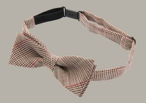 Bow-Tie 'Knut Jr.' - Estate Brown - vlinderstrik - CTH Mini