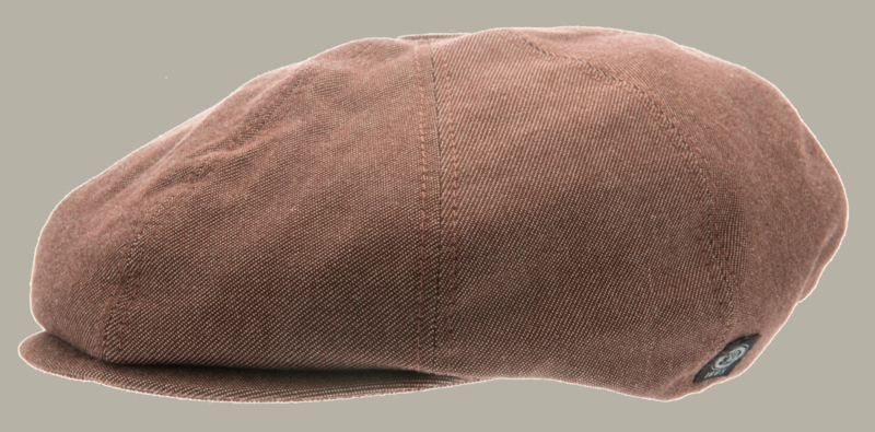 Pet `Lorentz` Morgado/Liberty Brown - newsboy cap - bruin - maat 48/50 - CTH Mini
