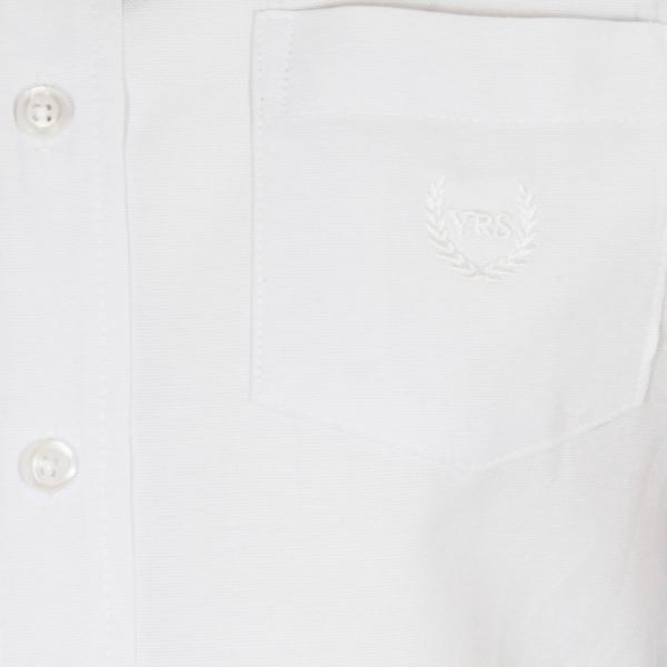 Vinrose overhemd 'Justin' wit - maat 134/140 - VR77
