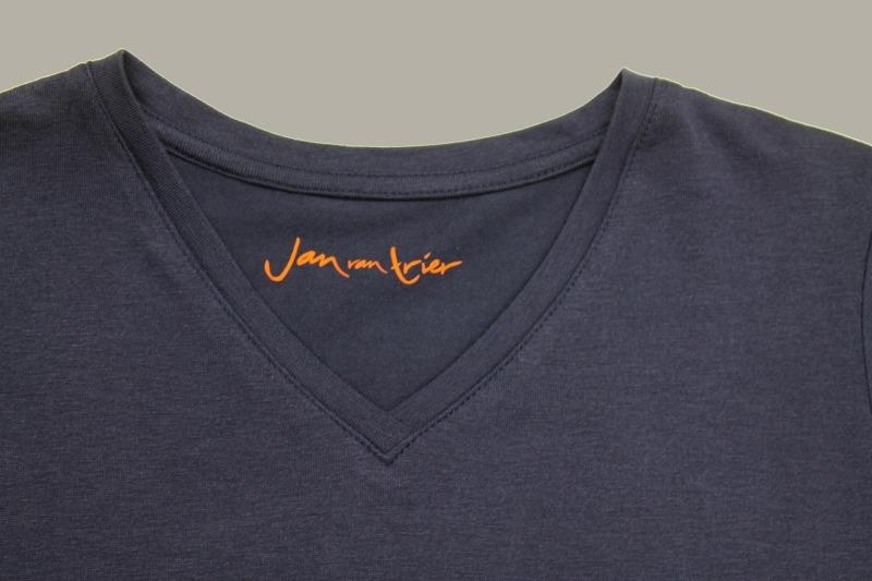 Jan van Trier shirt donkerblauw - maat 104 - JT19