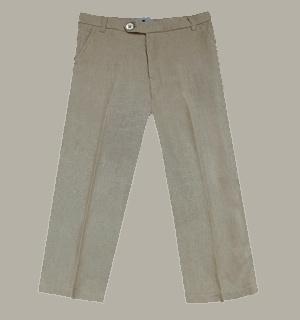 Little Linens 'Sand' linnen pantalon - maat 98/104 - LL44