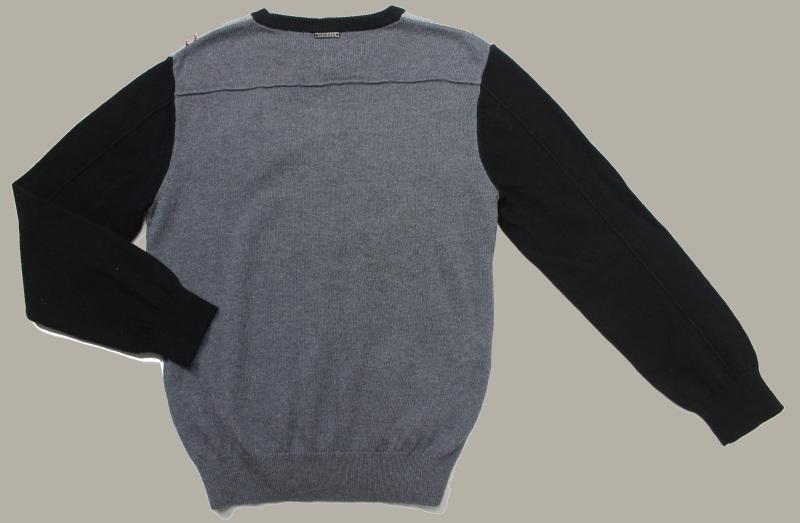 Antony Morato trui 'Check' - zwart/rood/grijs/wit geruit - maat 152 - MPC10