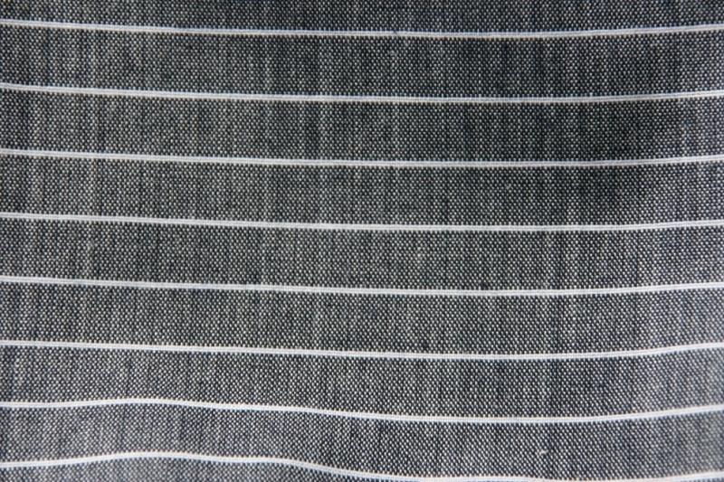Pet `Jibbe` - flat-cap - grijs/blauw met witte streep - maat 58 - FI