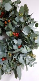 Eucalyptus krans ook als DIY pakket verkrijgbaar