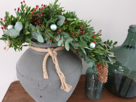 Luxe winter/kerst festoen ook als DIY pakket verkrijgbaar
