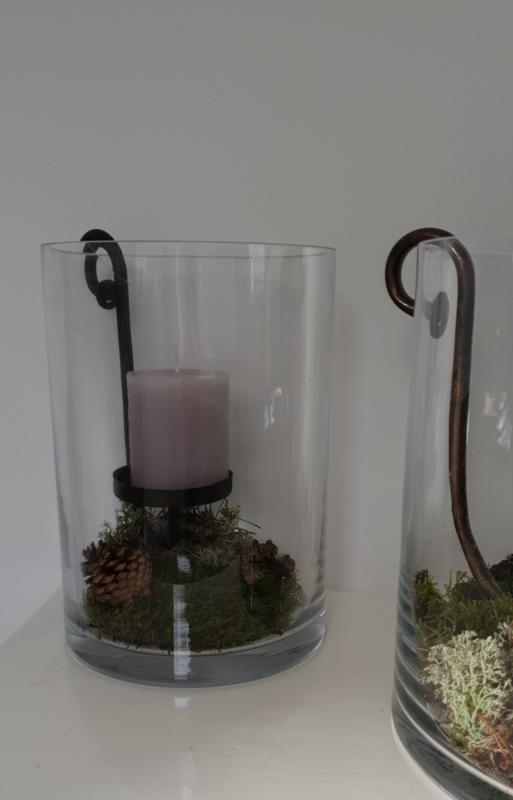 Windlicht glas Small