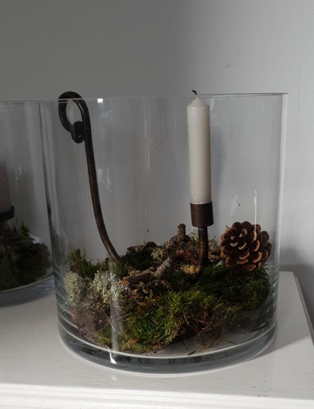 Windlicht glas Large