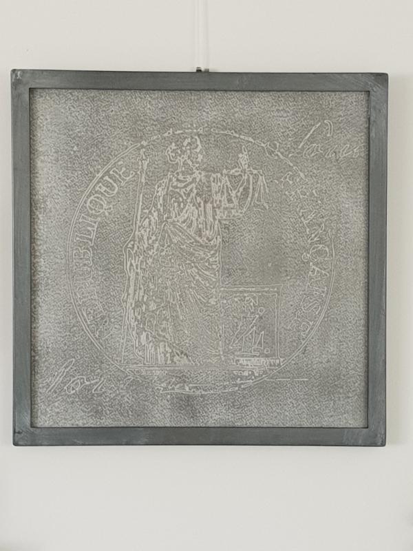 Schilderij Justitia