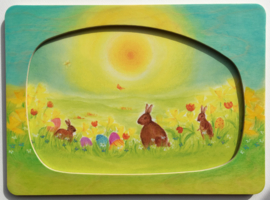 PO0003 Easter meadow incl frame