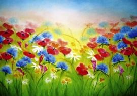 B1008 Field of flowers