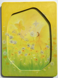 PO0004 Field with dandelions incl frame