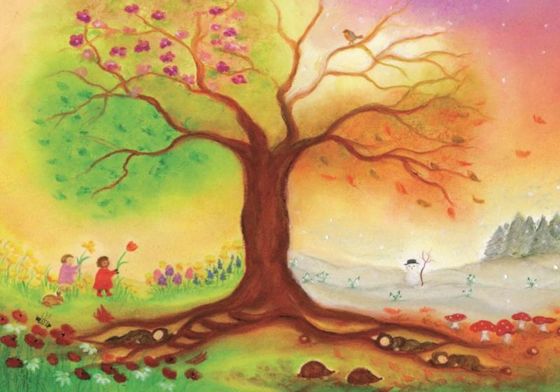 S1017 Vierseizoenenboom