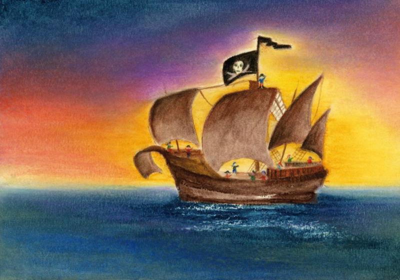 TH1003 Het piratenschip