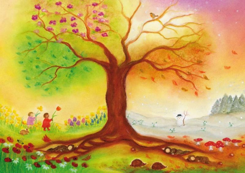 PO0002 Vierseizoenenboom