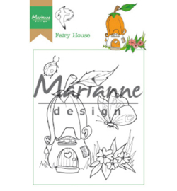 Marianne Design HT1641 Clear Stamp Hetty's Fairy house
