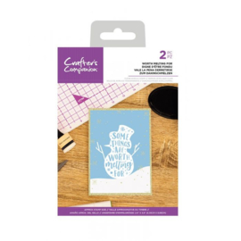 Crafter's Companion - stempel - Worth Melting For - CC-CA-ST-WMF