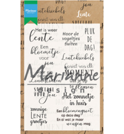 Marianne Design CS1022 Clear Stamp Lente