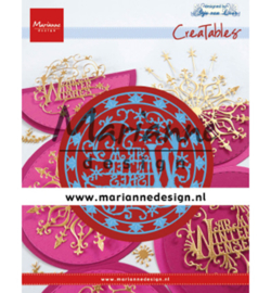 Marianne Design - Creatable - Anja's Warm Winter Wishes - LR0620